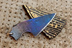 Cable Damascus Necker / Knife Pendant